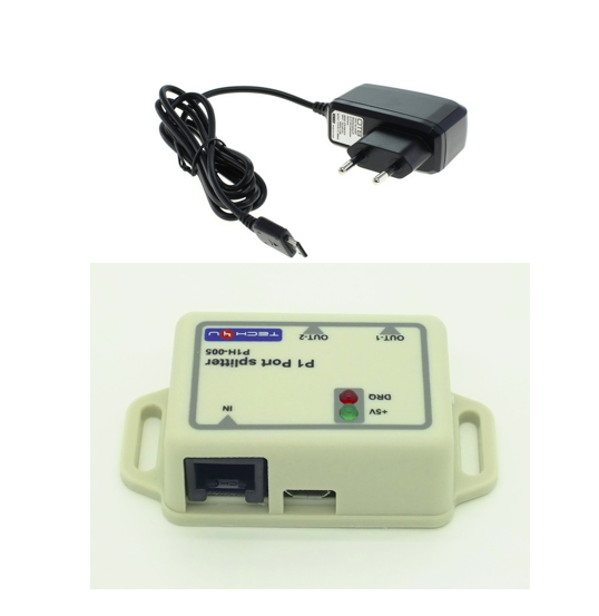 Splitter + micro USB combi I